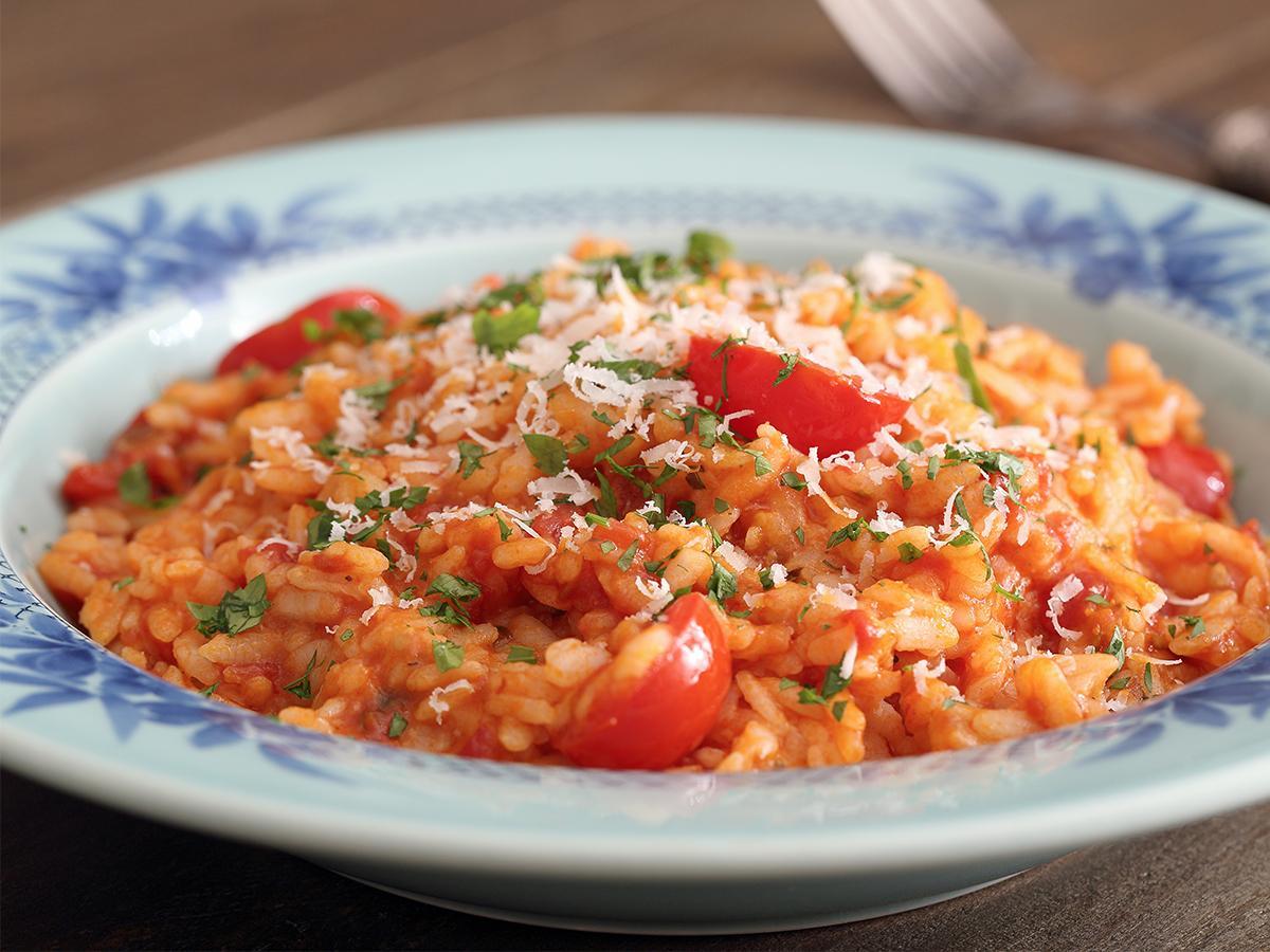 przepis na risotto pomidorowe