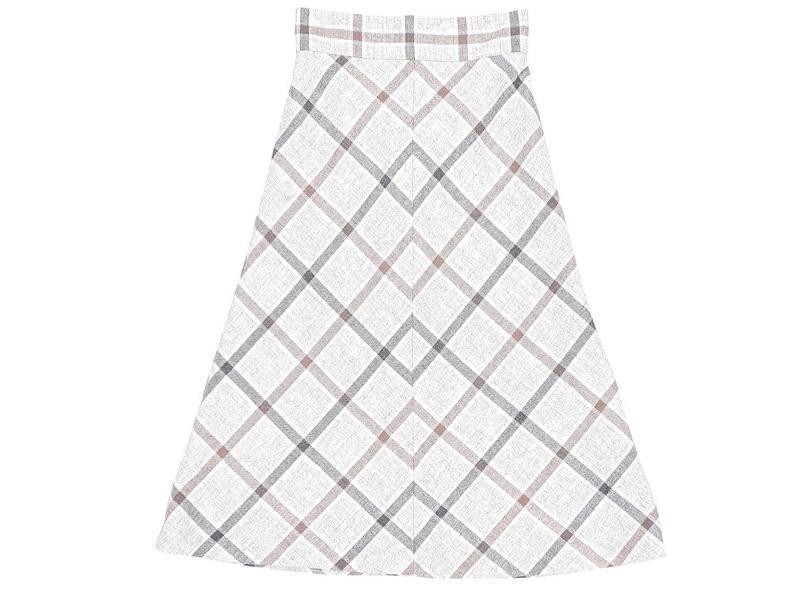rozkloszowana spódnica, BIALCON