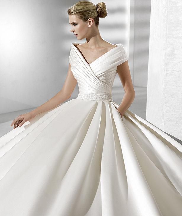 biała suknia ślubna Atelier Diagonal
