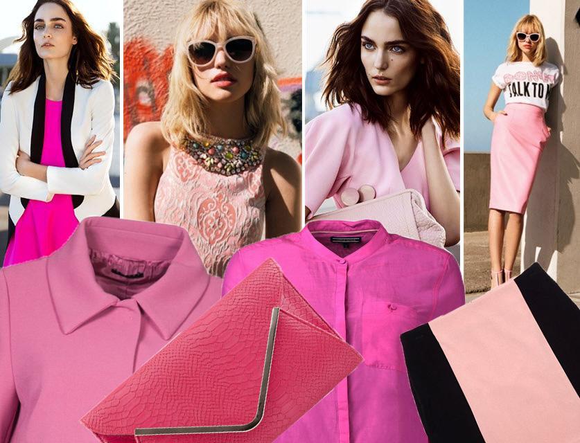 Różowy - kolor sezonu wiosna 2014