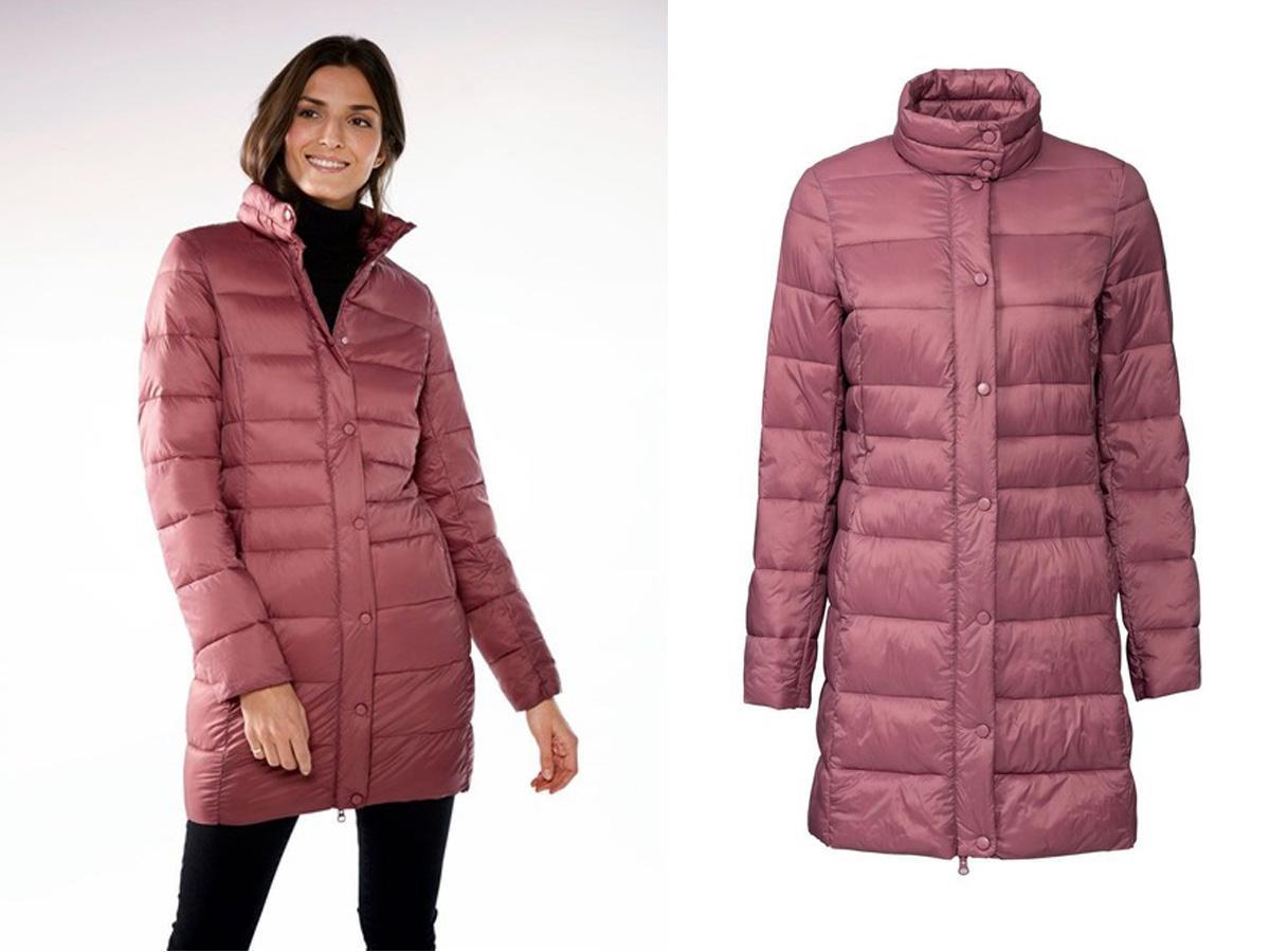 Różowy płaszcz Lidl
