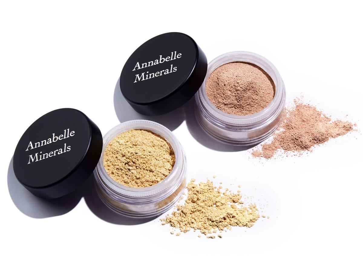rozświetlacze mineralne Annabelle Minerals