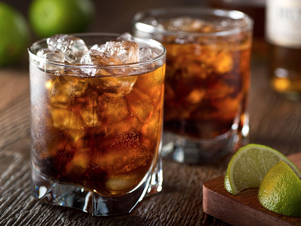 rum cola przepis
