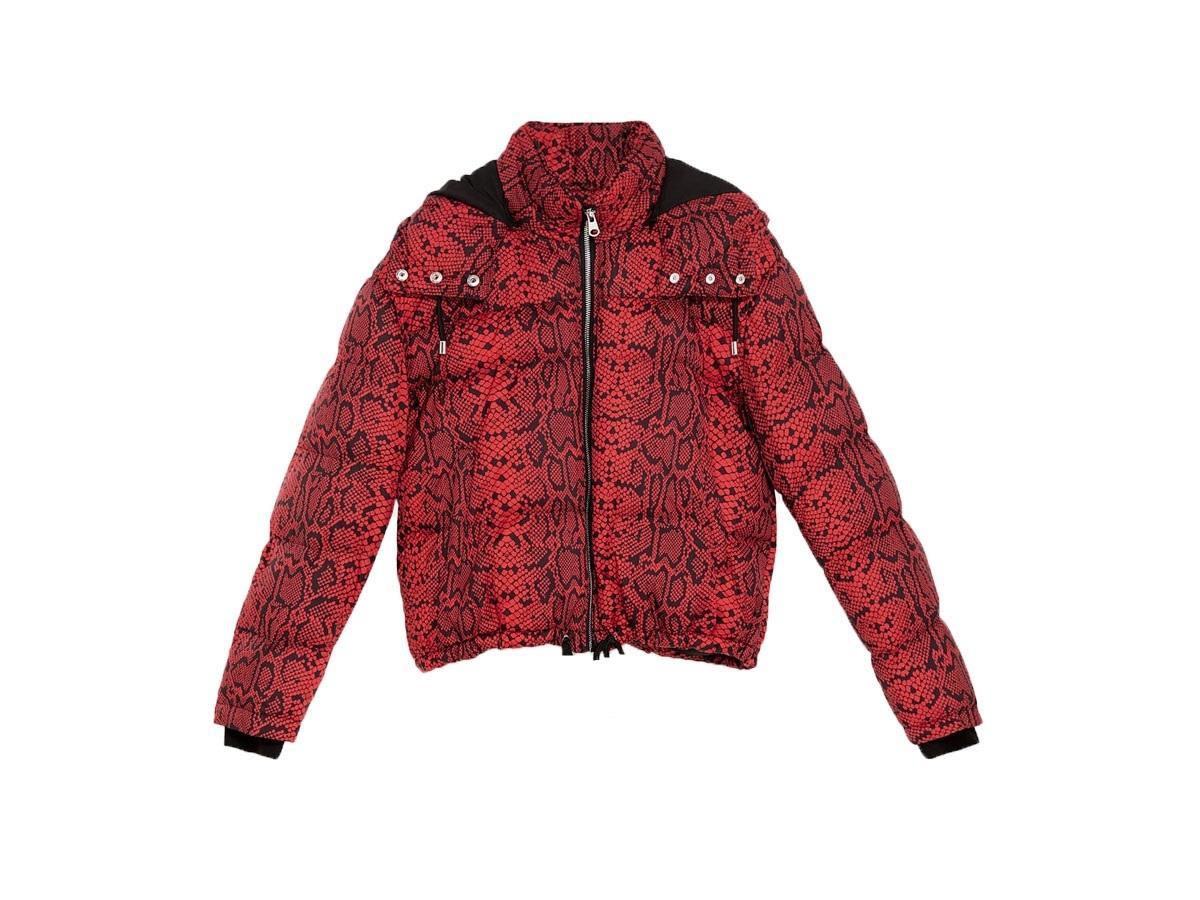 Pikowana kurtka ze zwierzęcym nadrukiem, Zara, cena ok. 159,00 zł (z 249,00 zł)