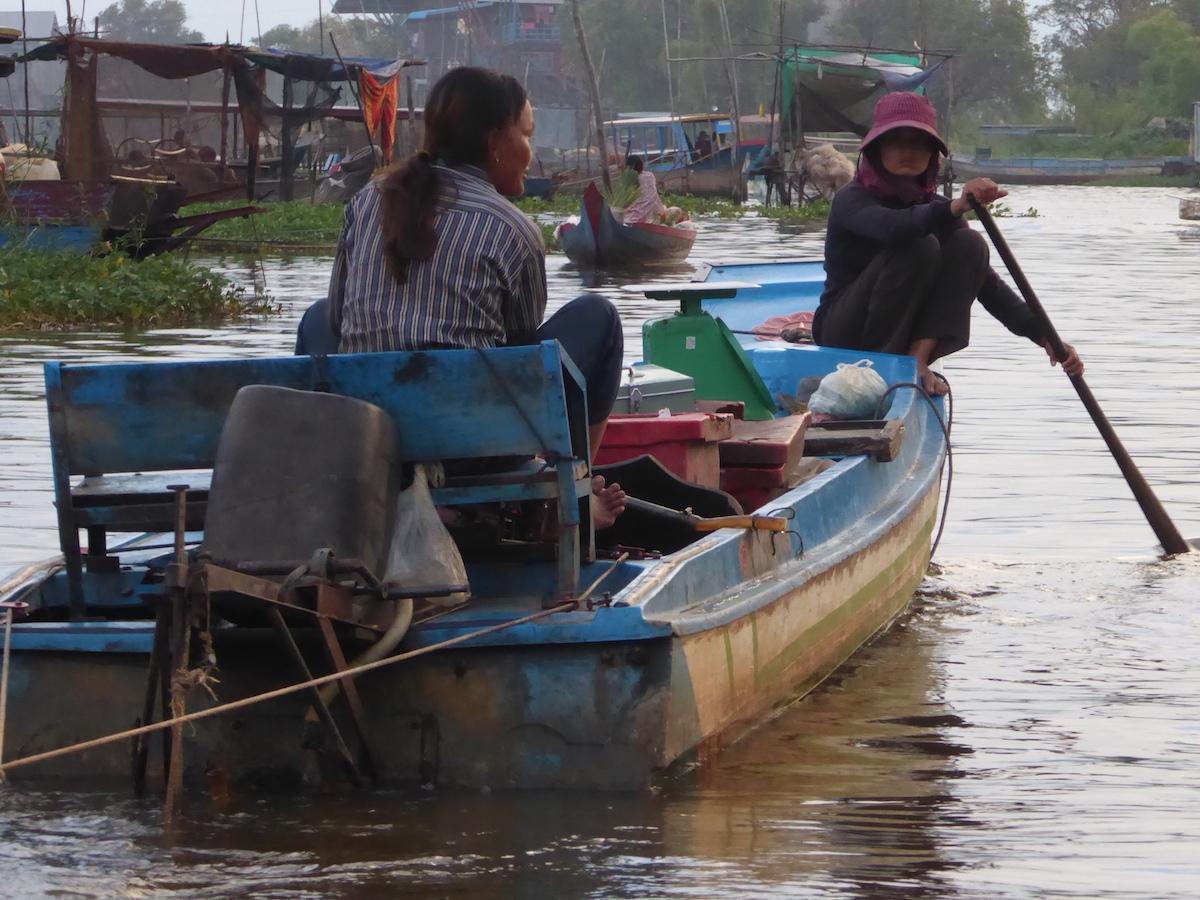 Wioski na wodzie - Kambodża
