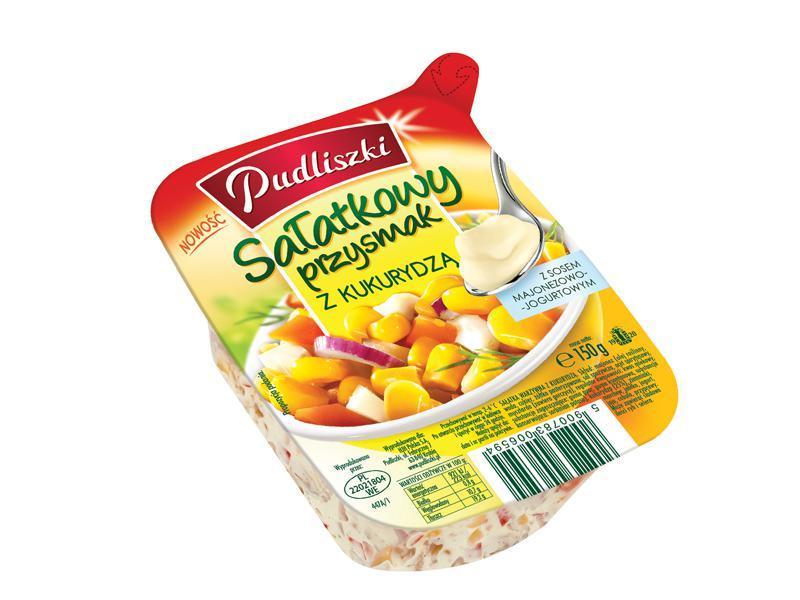 Sałatkowy przysmak z kukurydzą