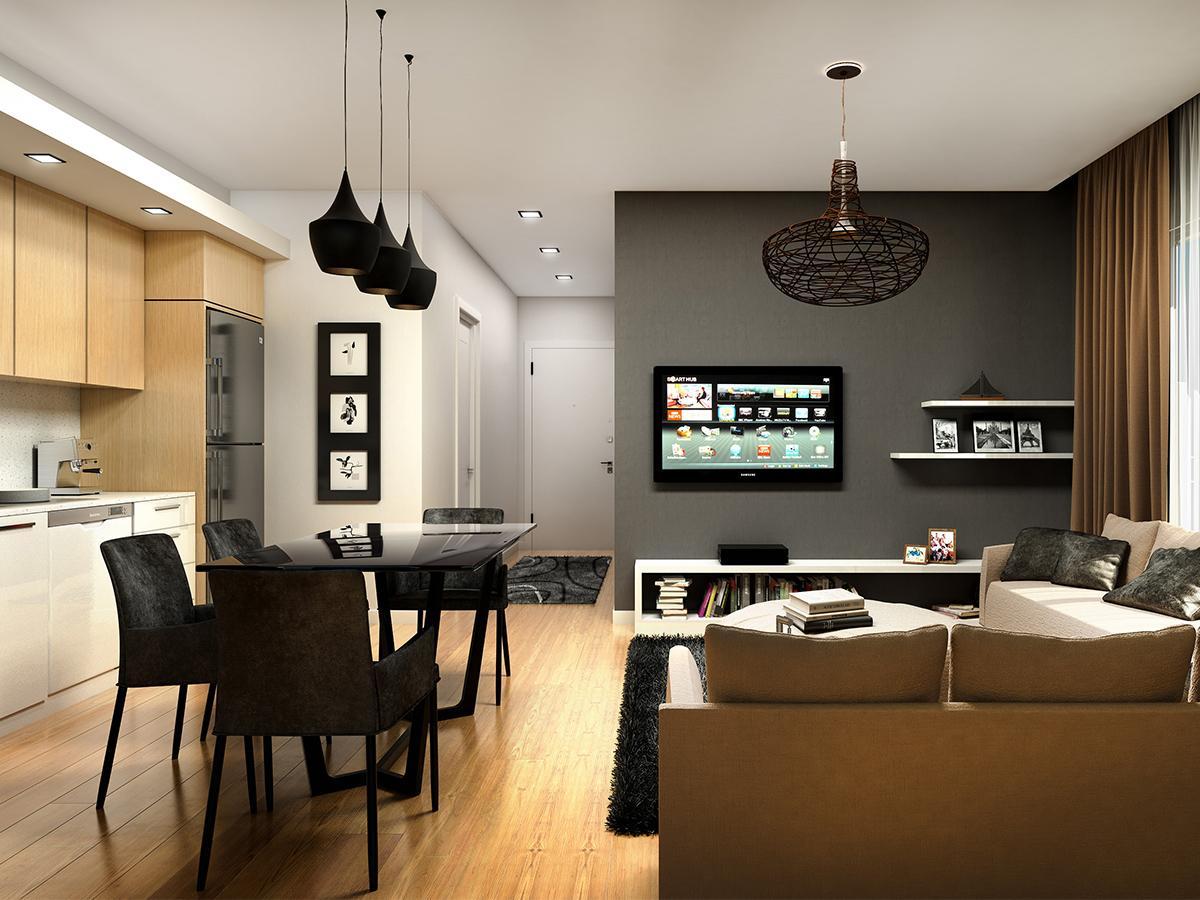 kuchnia z salonem inspiracje