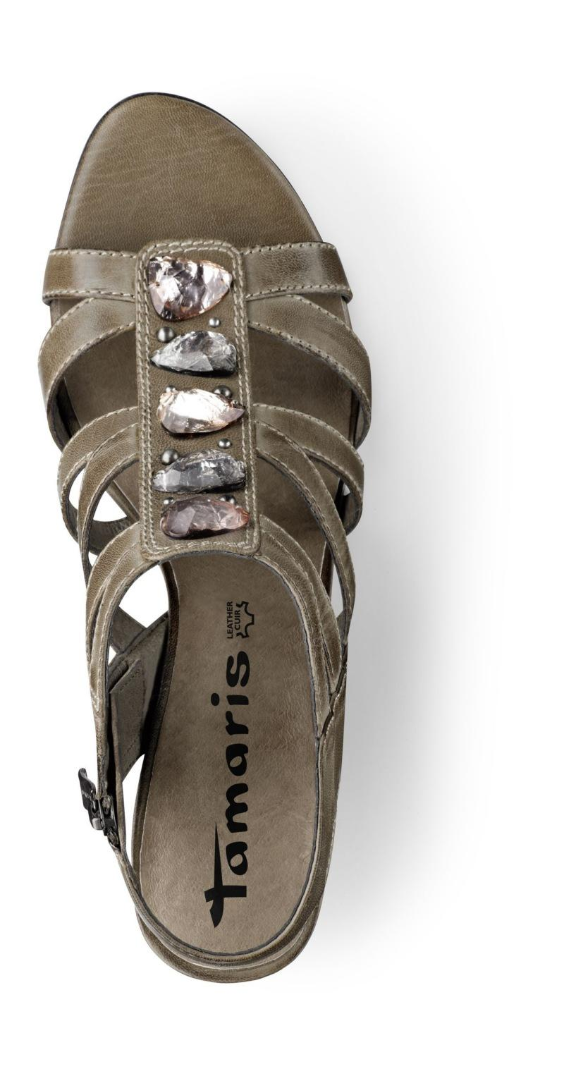 Sandały i klapki dla niej - Tamaris na lato 2011