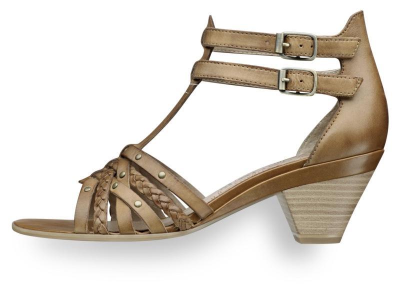 brązowe sandały Tamaris - wiosna-lato 2011