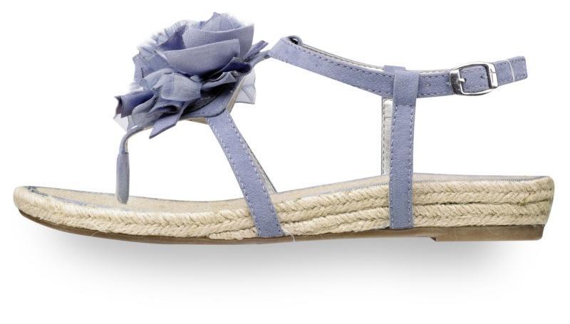 fioletowe sandały Tamaris - wiosenna kolekcja