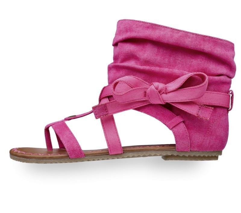 różowe sandały Tamaris - wiosna/lato 2011