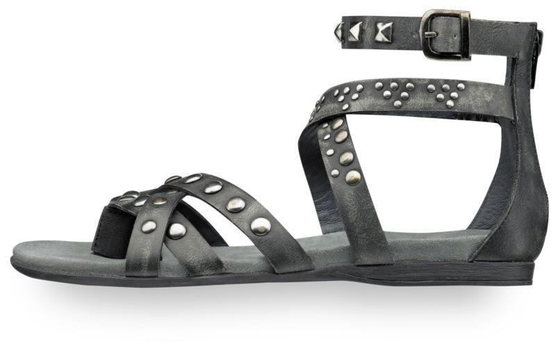 czarne sandały Tamaris - sezon wiosenno-letni
