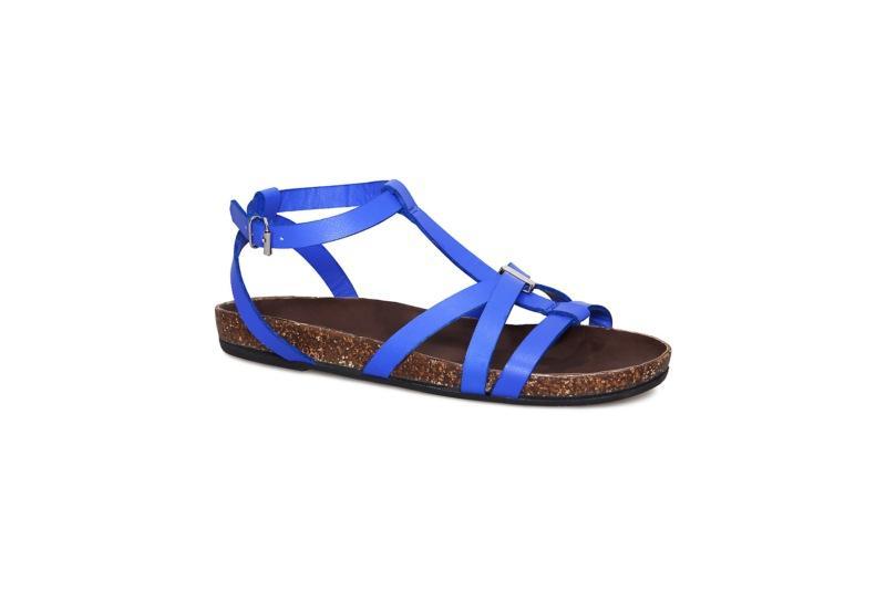 niebieskie sandały Vagabond - z kolekcji wiosna-lato 2011
