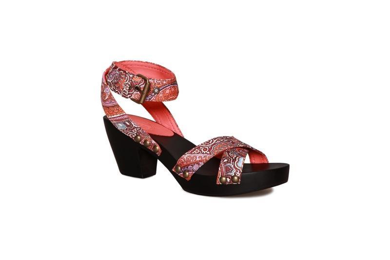 kolorowe sandały Vagabond - z kolekcji wiosna-lato 2011