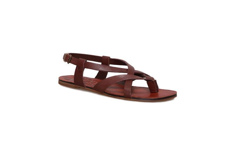 brązowe sandały Vagabond - wiosenna kolekcja