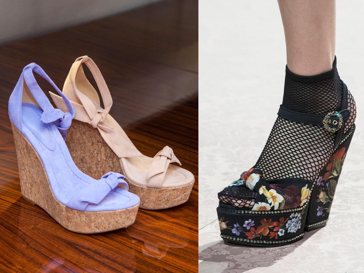 Sandały na koturnie na lato 2019 - jakie kupić?