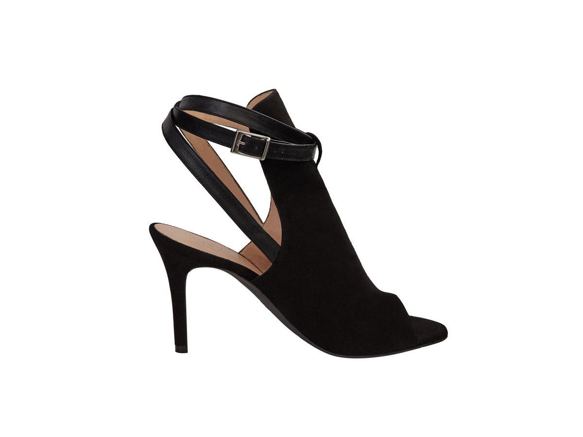 7640c57fef0a2f Czarne sandały na obcasie, Taranko, cena ok. 499,00 zł - Sandały na ...
