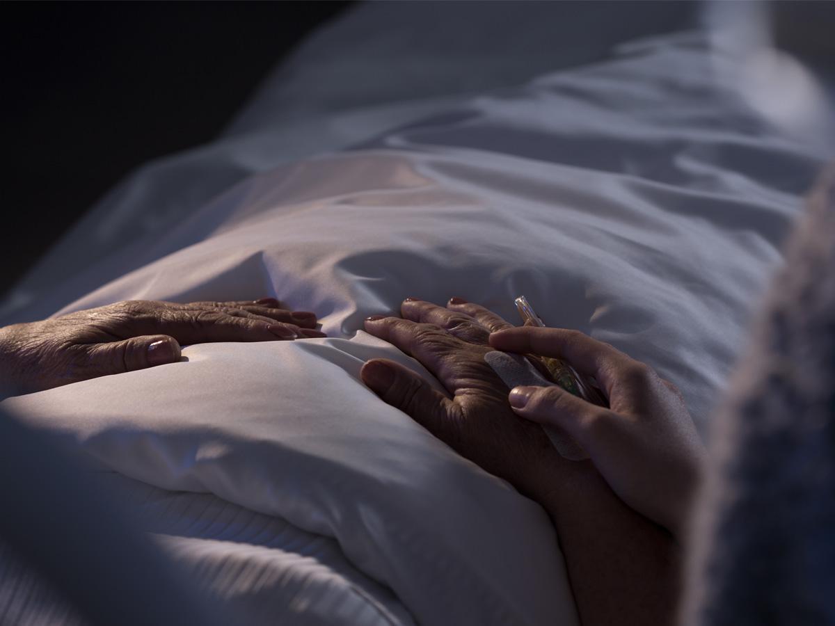 sen o zmarłej babci