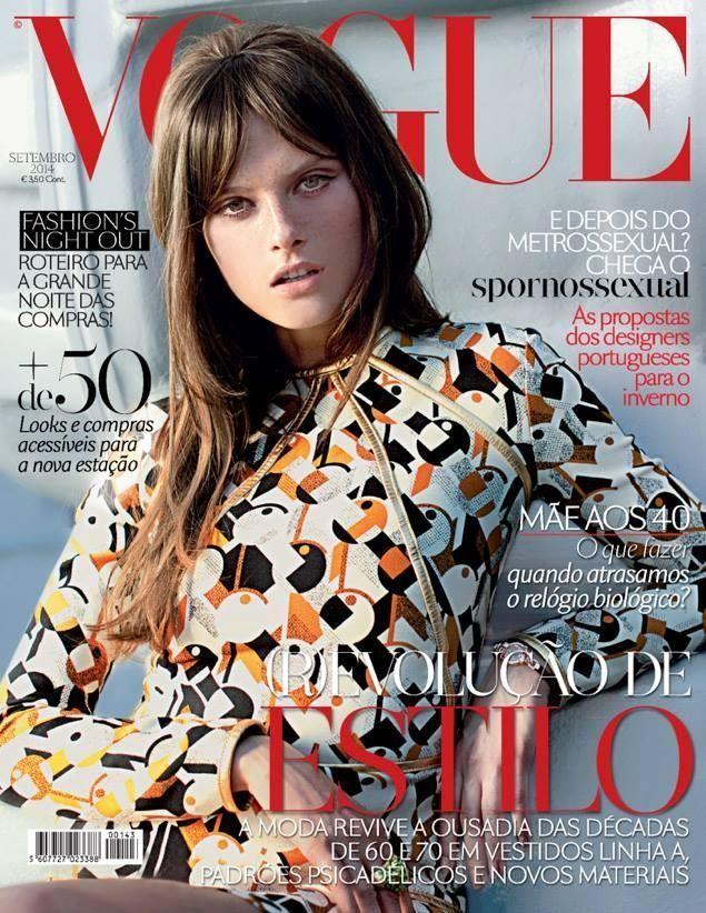 Wrześniowa okładka Vogue Portugal