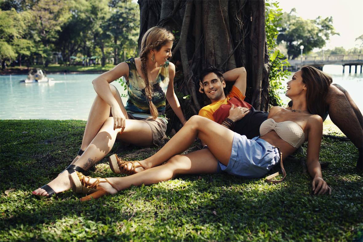 Sesja kolekcji marki Reporter - lato 2012