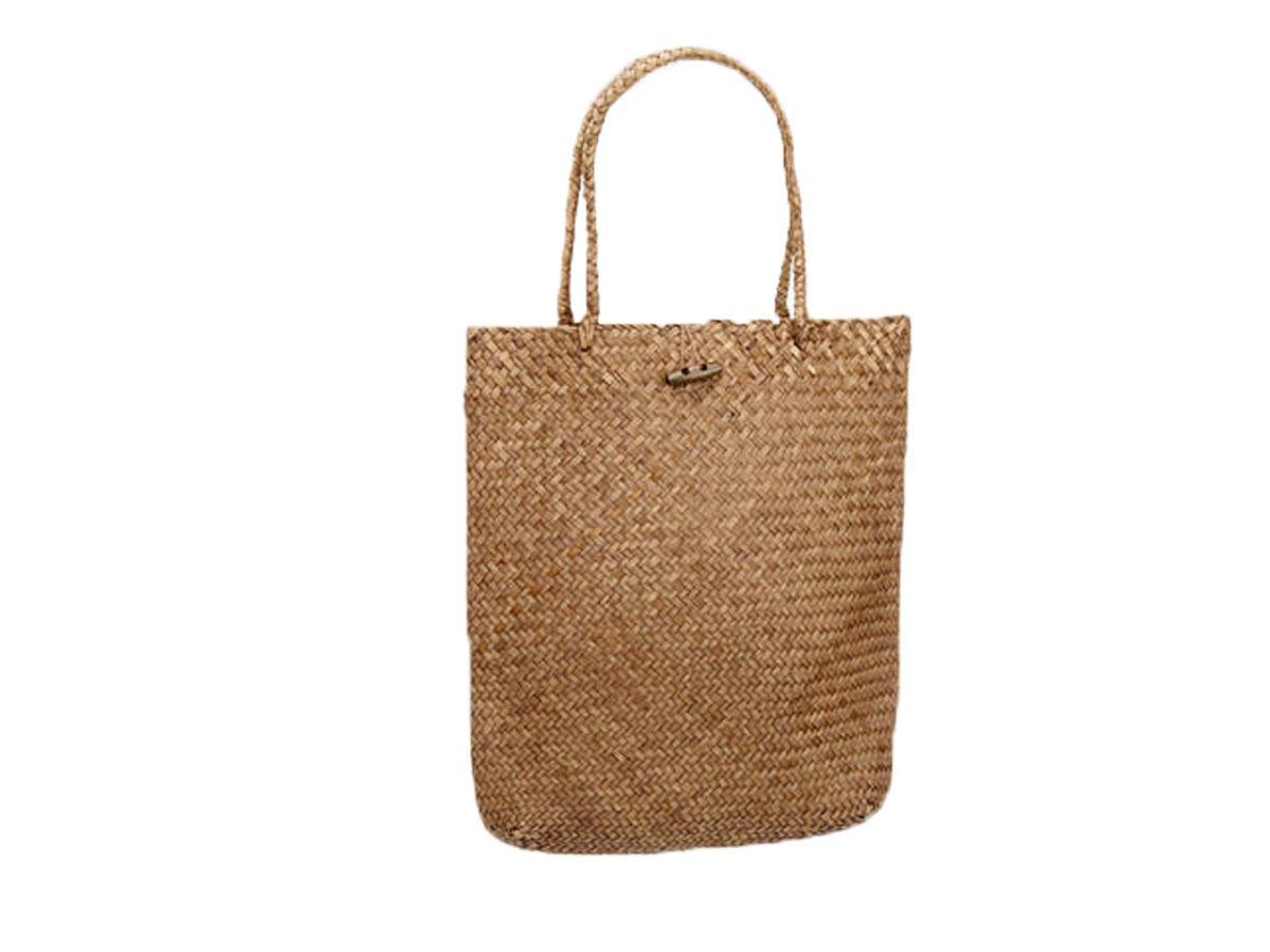 Słomkowa torebka typu shopper, Deichmann, cena ok. 69,90 zł