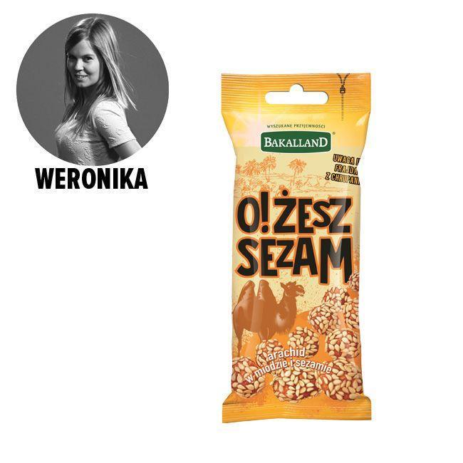 Przekąska Bakalland, O żesz sezam - cena ok. 3 zł