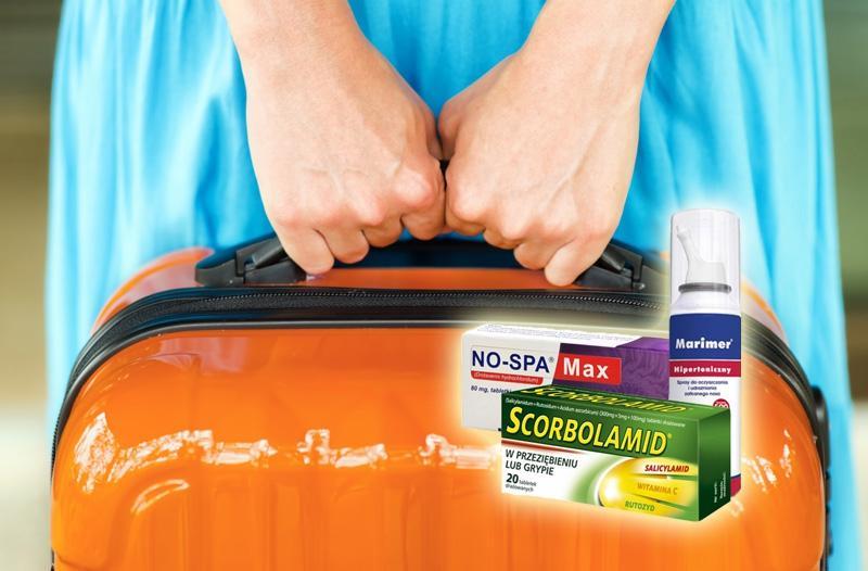 Środki przeciwbólowe (np. Ibuprom Max)
