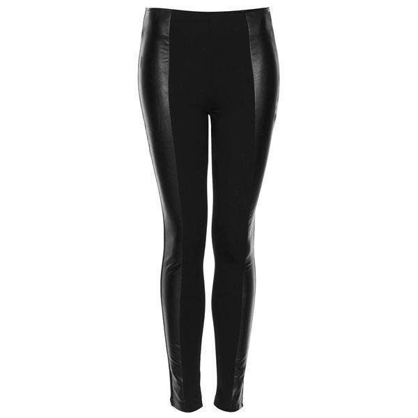 Skórzane spodnie Topshop, cena