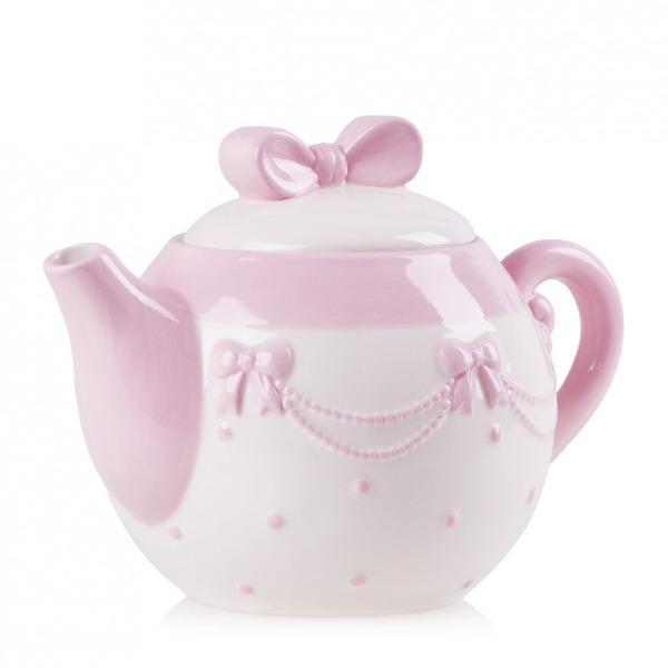 Pomysłowy dzbanek na herbatę w różowej tonacji -pomysły od Home&You