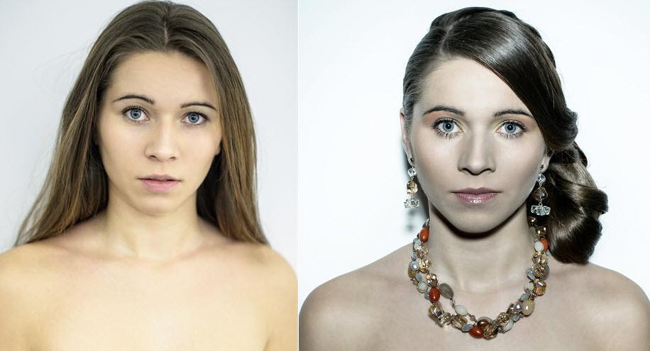 Ślubny makijaż i fryzura - typ urody wiosna