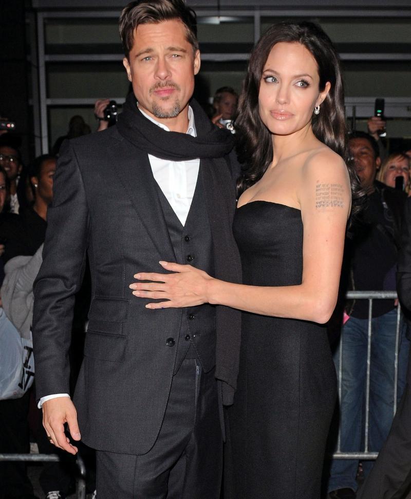 Słynne mamy - Angelina Jolie