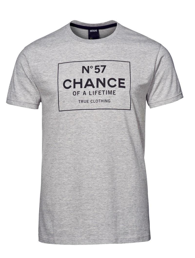 szary t-shirt New Yorker - kolekcja wiosenna