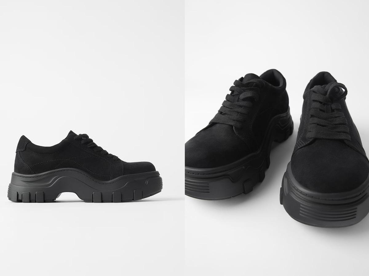 Sneakersy na grubej podeszwie Zara