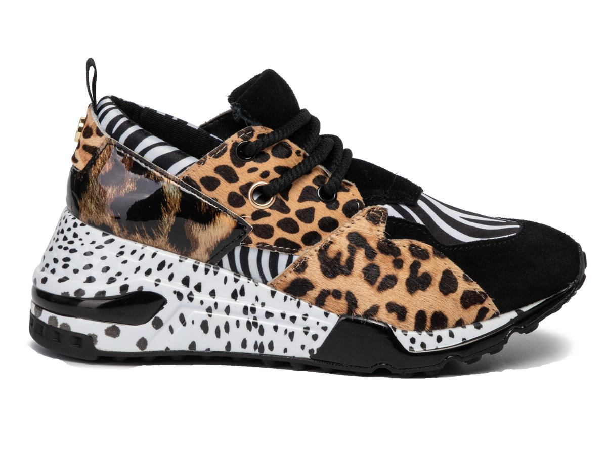 Sneakersy w animal print Steve Madden