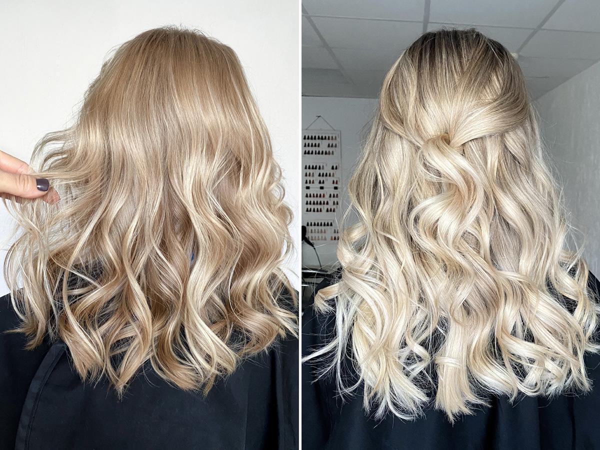 sombre blond jak zrobić