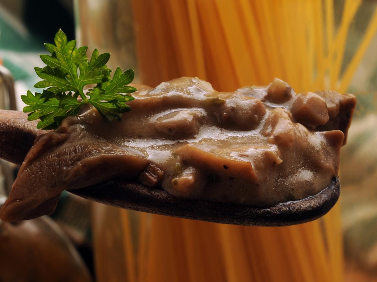 Sos z grzybów