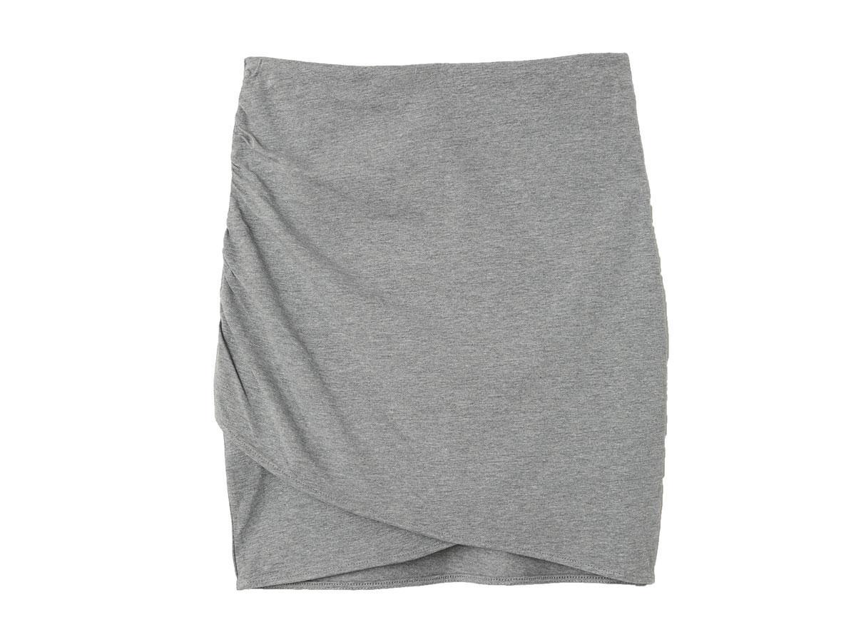 Drapowana spódnica dresowa H&M