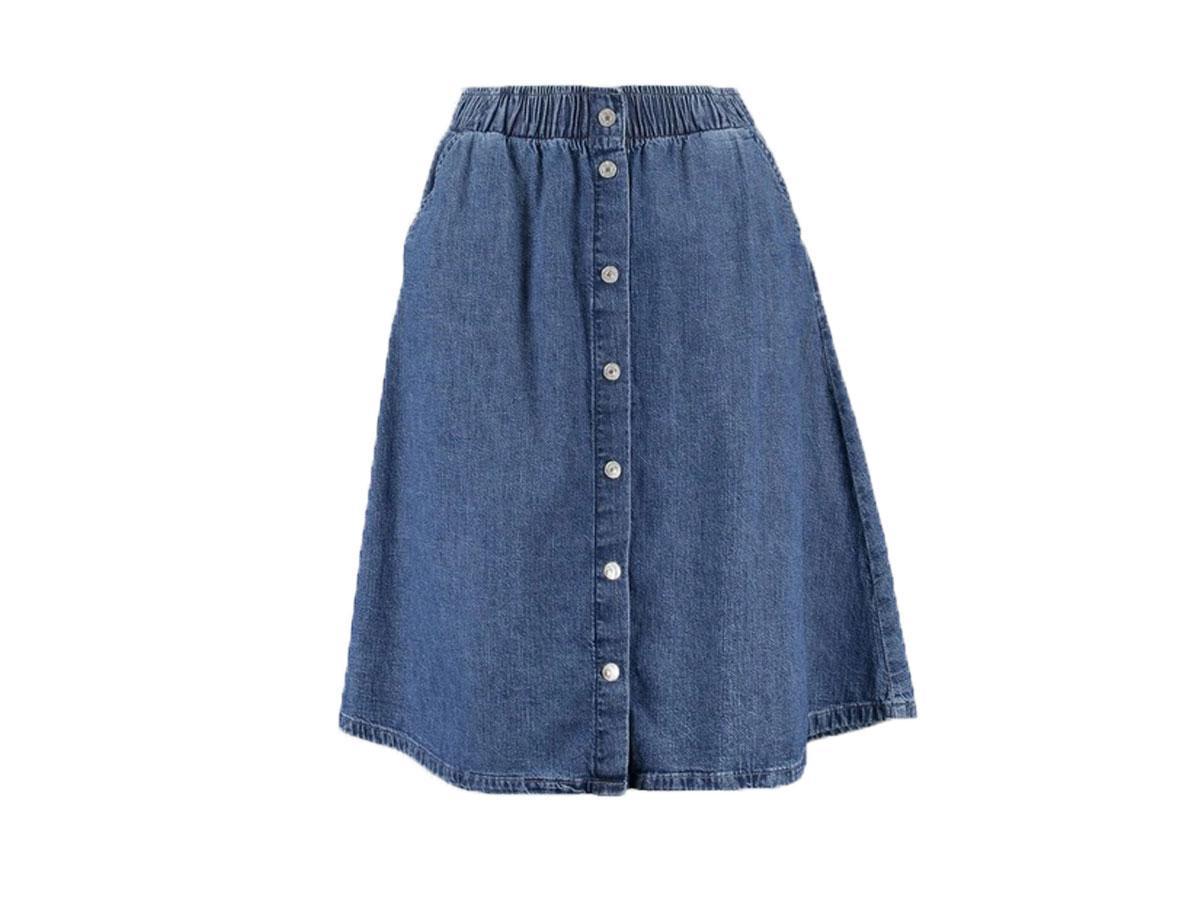Jeansowa spódnica z guzikami Levi's