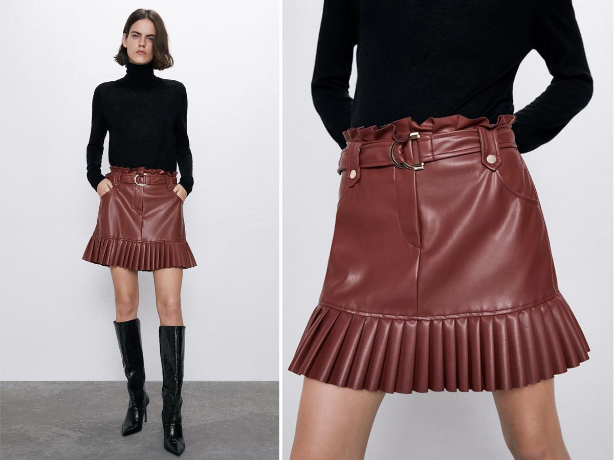 Spódnica mini Zara