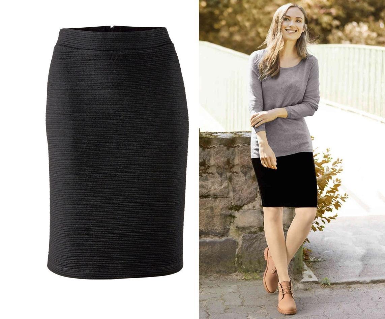 Ołówkowa spódnica z Lidla