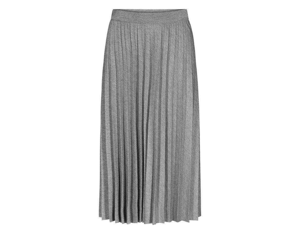 Szara plisowana spódnica Quoisque