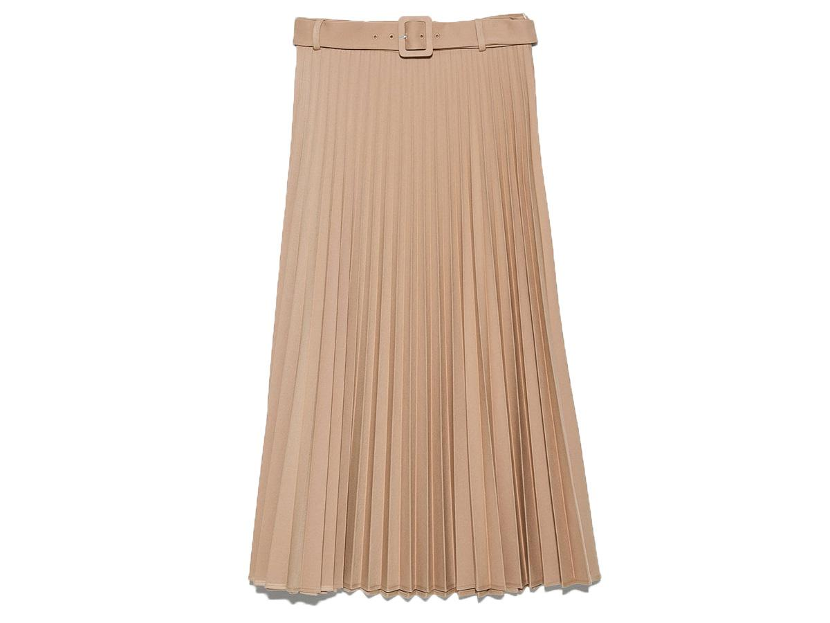 plisowna spódnica Zara