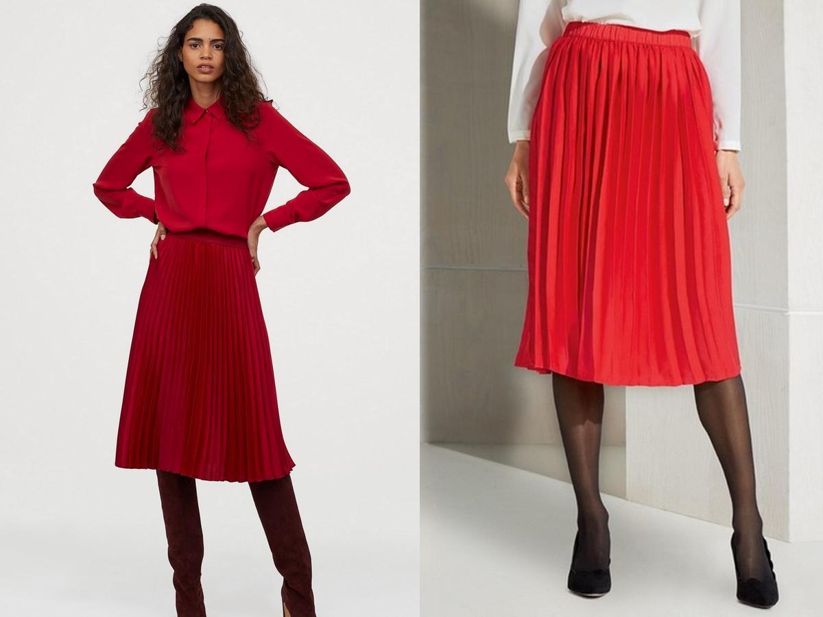spódnica z Lidla za 49 zł wygląda jak z H&M