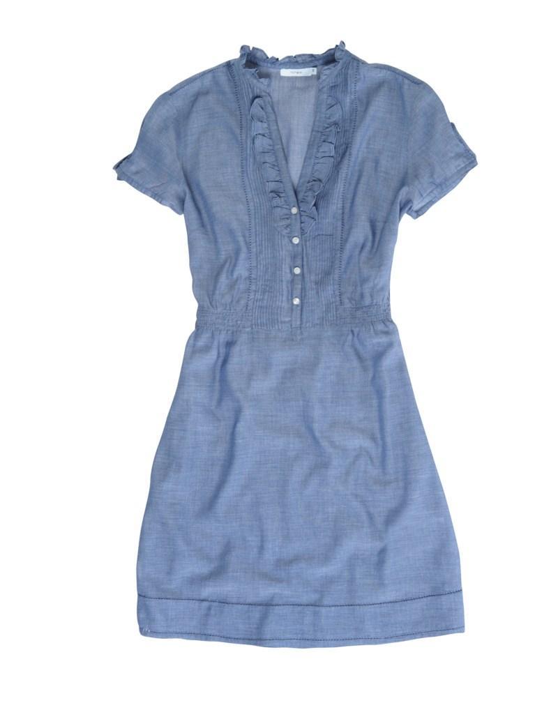 niebieska sukienka Tatuum - sezon wiosenno-letni