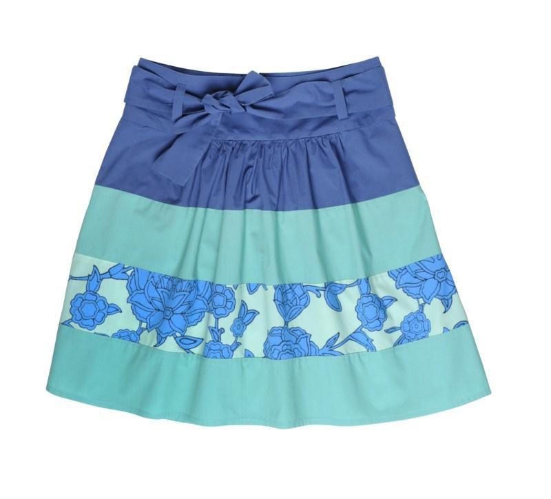 turkusowa spódnica Tatuum - moda wiosna/lato