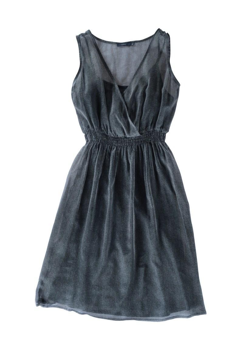 granatowa sukienka Tatuum - z kolekcji wiosna-lato 2011