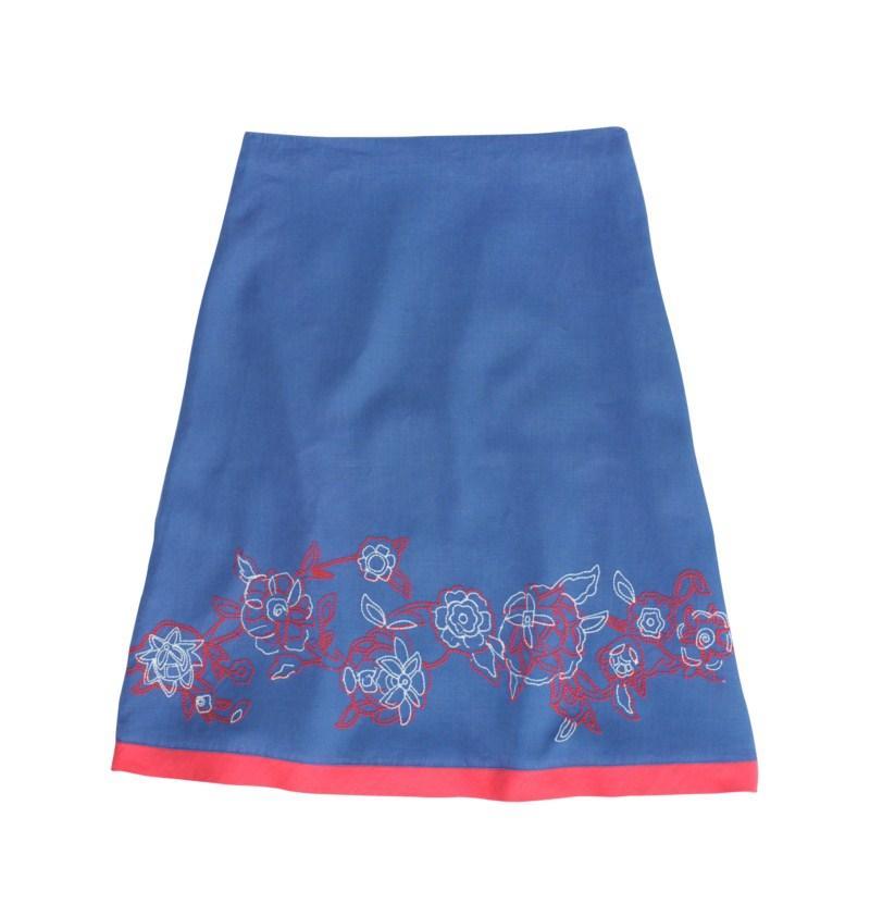 niebieska spódnica Tatuum - lato 2011