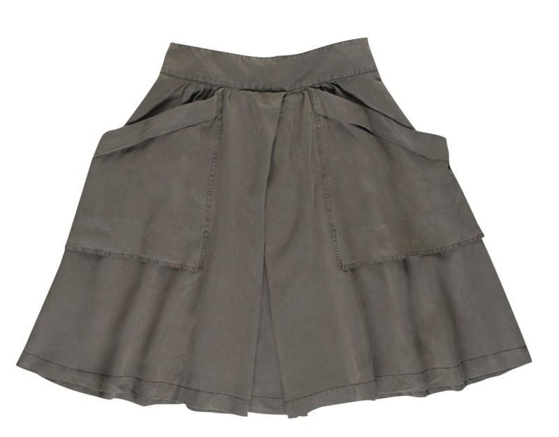 khaki spódnica Tatuum - wiosenna kolekcja