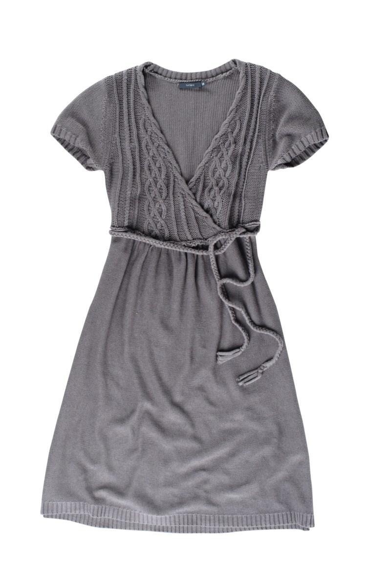 popielata sukienka Tatuum - wiosna 2011