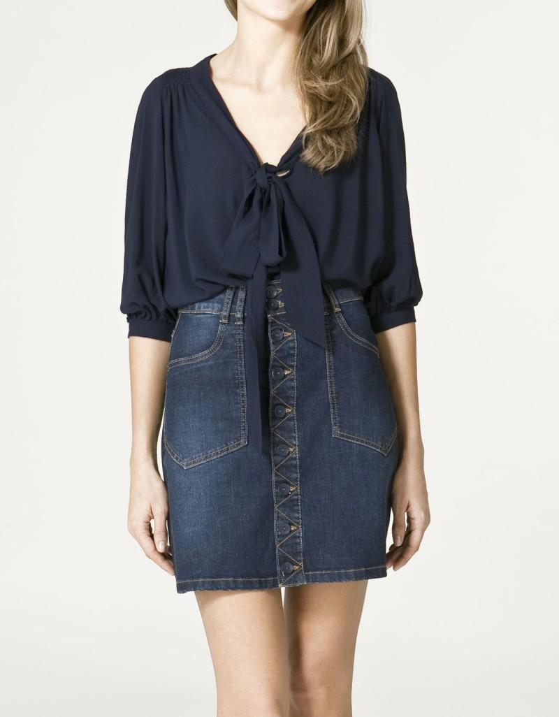 Spódnice i sukienki Zara TRF na wiosnę i lato 2011